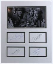 Ice Cold In Alex Cast Autograph Display