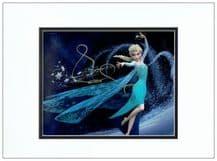 Idina Menzel Autograph Signed Photo - Frozen