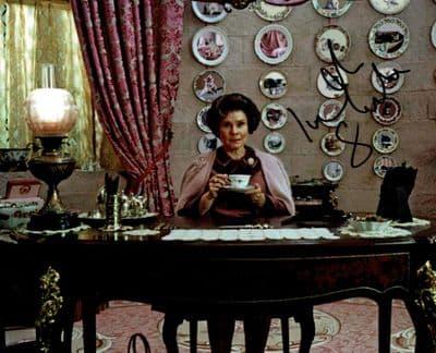 Imelda Staunton Autograph Signed Photo Dolores Umbridge Harry Potter