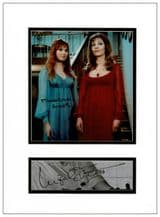 Ingrid Pitt and Madeline Smith Autograph Display - The Vampire Lovers