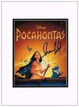 Irene Bedard Autograph Signed Photo - Pocahontas