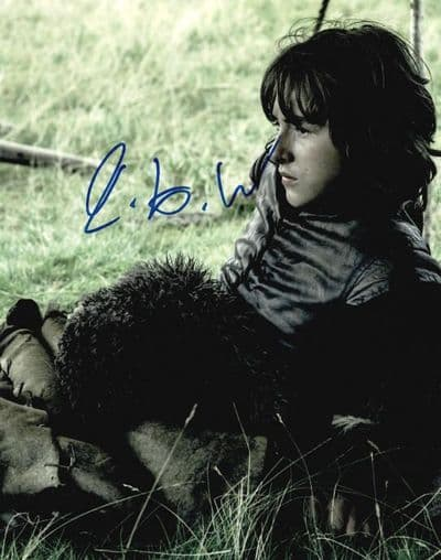 Isaac Hempstead Wright Autograph Signed Photo - Game Of Thrones