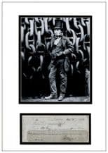 Isambard Kingdom Brunel Autograph Signed Cheque Display