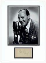 Jack Benny Autograph Signed