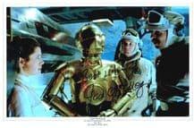 Jack McKenzie Autograph Signed Photo - The Empire Strikes Back