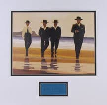 Jack Vettriano Autograph Display - The Billy Boys