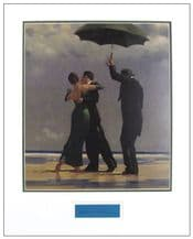 Jack Vettriano Signed Display - Dancer In Emerald