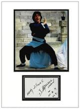 Jackie Chan Autograph Signed Display
