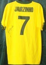 Jairzinho Signed Football Shirt - Brazil