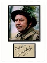 James Beck Autograph Signed - Dad's Army