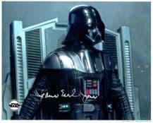 James Earl Jones Autograph Photo - Darth Vader