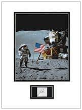 James Irwin Autograph Signed Display - Apollo 15
