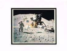 James Irwin Autograph Signed Photo - Apollo 15
