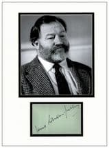 James Robertson Justice Autograph Signed