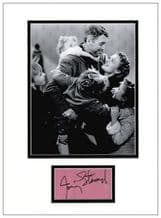 James Stewart Autograph - It's A Wonderful Life