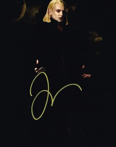 Jamie Campbell Bower Autograph Signed Photo - Twilight