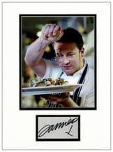 Jamie Oliver Autograph Display