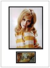 Jane Fonda Autograph Signed Display