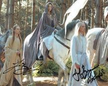 Jarl and Jorn Benzon Signed Photo - The Return of the King