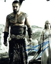 Jason Momoa Autograph Signed Photo - Game Of Thrones