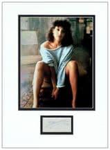 Jennifer Beals Autograph Signed Display - Flashdance