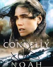 Jennifer Connelly Autograph Signed Photo - Noah