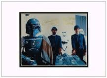 Jeremy Bulloch and  Alan Harris Autograph Signed Photo - Star Wars