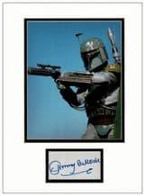 Jeremy Bulloch Autograph Display - Boba Fett