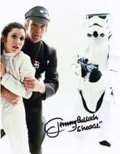 Jeremy Bulloch Autograph Signed Photo Sheckil
