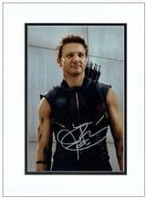 Jeremy Renner Autograph Signed Photo - Hawkeye