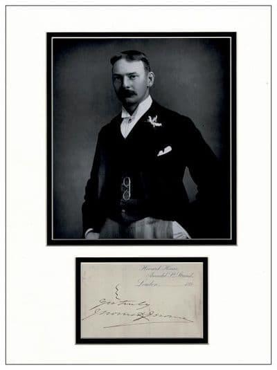 Jerome K Jerome Autograph Signed For Sale