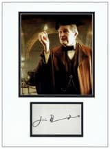 Jim Broadbent Autograph Signed Display - Harry Potter