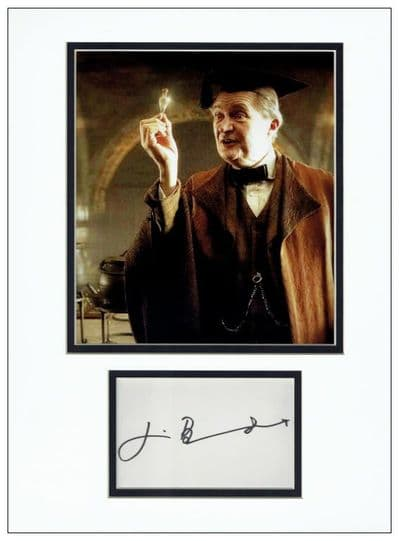 Jim Broadbent Autograph Signed Display - Harry Potter