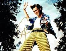 Jim Carrey Autograph Signed Photo - Ace Ventura