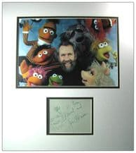 Jim Henson Autograph Signed - The Muppets