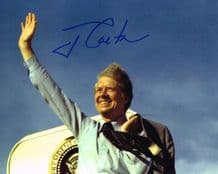 Jimmy Carter Autograph Signed Photo