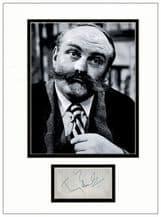Jimmy Edwards Autograph Display