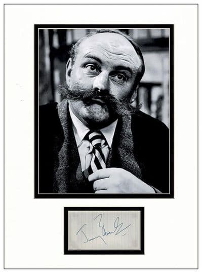 Jimmy Edwards Autograph Display
