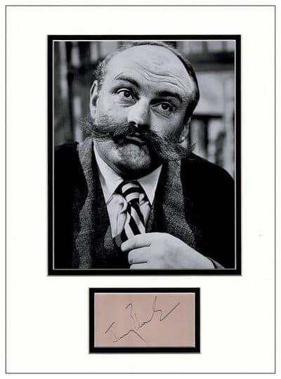Jimmy Edwards Autograph Signed