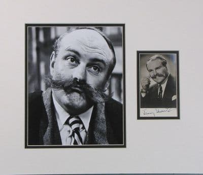 Jimmy Edwards Autograph Signed Photo Display