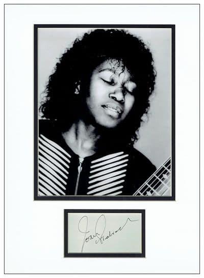 Joan Armatrading Autograph Signed Display