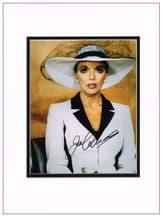 Joan Collins Autograph Photo - Dynasty
