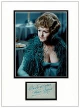 Joan Sims Autograph Signed Display - Carry On