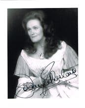 Joan Sutherland Autograph Signed Photo