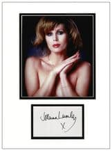 Joanna Lumley Autograph Signed Display