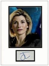 Jodie Whittaker Autograph Display - Doctor Who
