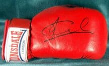 Joe Calzaghe Autograph Signed Boxing Glove