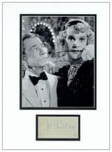 Joe E Brown Autograph Signed - Some Like It Hot