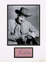 Joel McCrea Autograph Signed