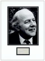 John Betjeman Autograph Signed Display